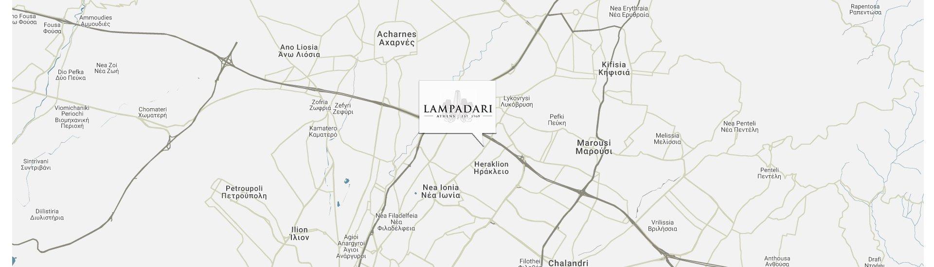 Lampadari Τοποθεσία Map Location