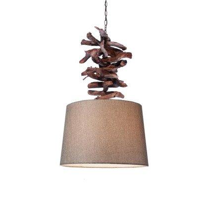 Φωτιστικό Ξύλινο Dominique | Driftwood