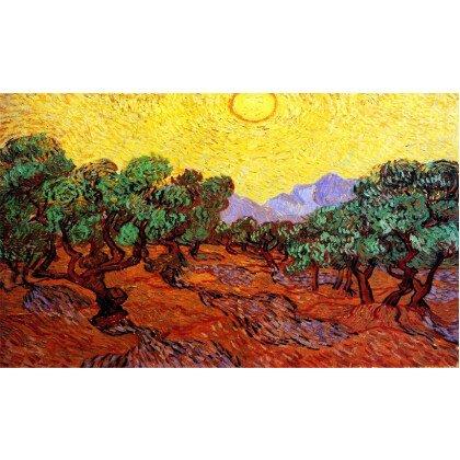 Πίνακας Vincent van Gogh, Olive Trees 100X60