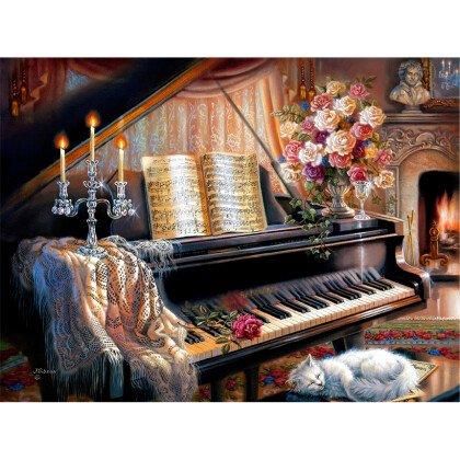 Πίνακας Piano 115X85