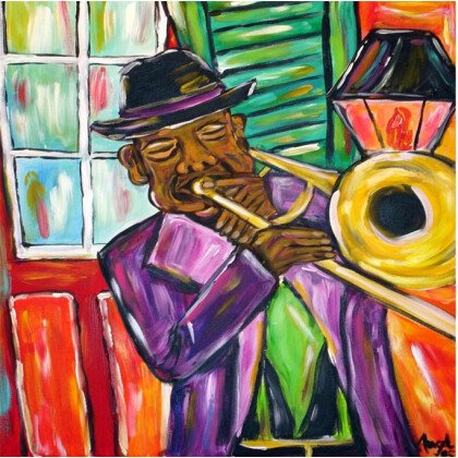 Πίνακας Trumpet 70X70