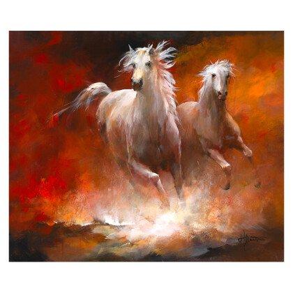 Πίνακας Άλογα 100Χ84