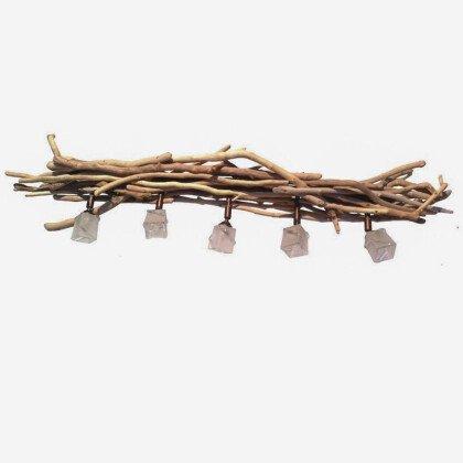 Φωτιστικό Οροφής Θαλασσόξυλα & Spot | Driftwood