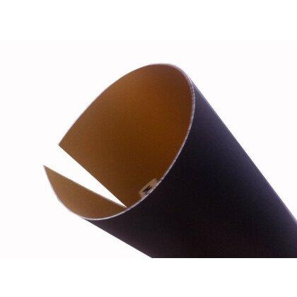 Αμπαζούρ μαύρο μεταξωτό διπλής όψης
