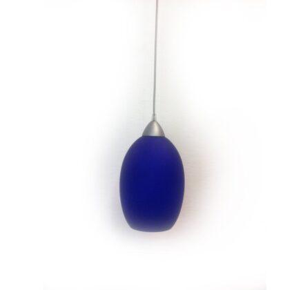 Μονόφωτο με μπλε γυαλί