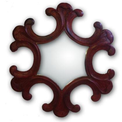 Καθρέφτης από ξύλο