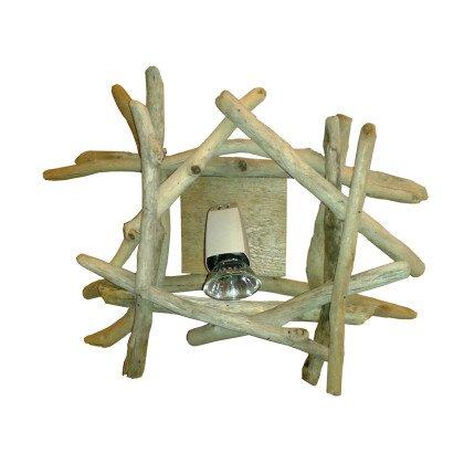 Σποτάκι με ξύλινη βάση