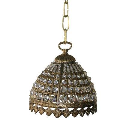 Μπρούτζινο χυτό φωτιστικό Lampdari