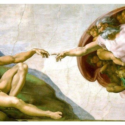 Δημιουργία του Αδάμ Capella Sistina Πίνακας