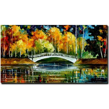 Πίνακας Under The Bridge 60X110 1