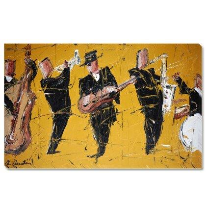 Πίνακας Jazz Band 100X170