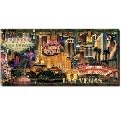 Πίνακας-Las Vegas 50X110