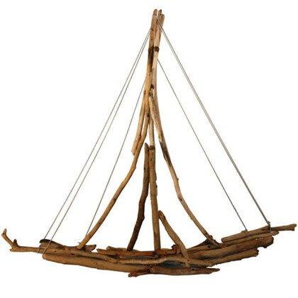 Καράβι Θαλασσόξυλα DRIFTWOOS ART LAMPADARI