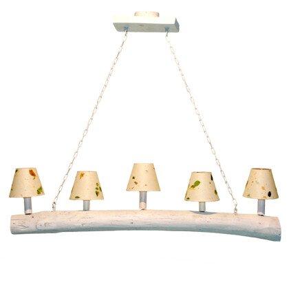 Ξύλινα Φωτιστικά Lampadari