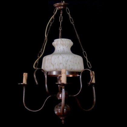 Μπρούτζινο Φωτιστικό LAMPADARI