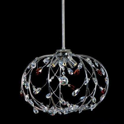 Φωτιστικό Crystal Planet | Νεοκλασικό Κρεμαστό Πολύφωτο