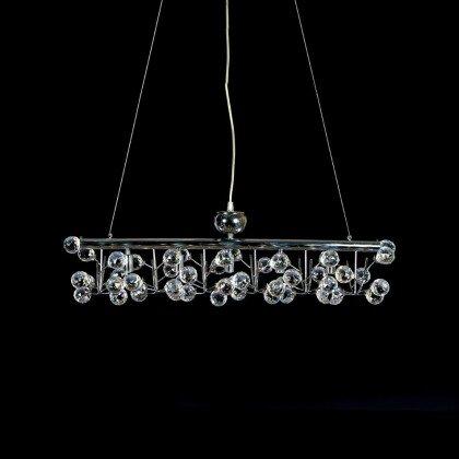 Κρεμαστό Φωτιστικό Victor | Κρυστάλλινο Πολύφωτο - LAMPADARI
