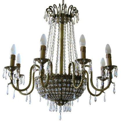 Μπρούτζινο φωτιστικό Lampdari