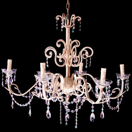 Μπρούτζινα φωτιστικά LAMPADARI