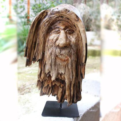 ξυλινο χειροποιητο διακοσμητικο