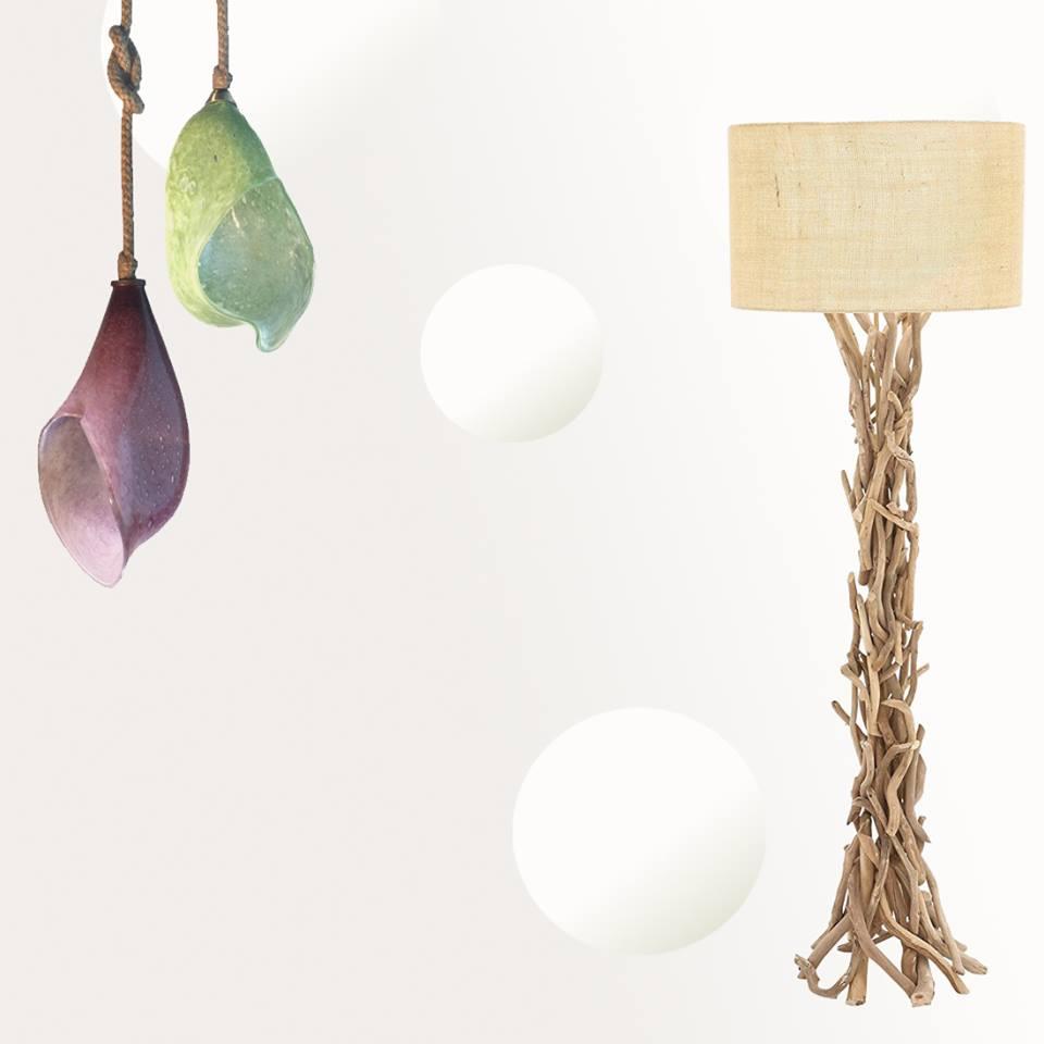 Ξύλινα Φωτιστικά - Wood Collection