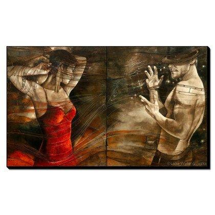 Πίνακας Χορευτές Ταγκό