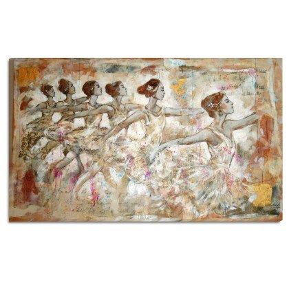 Πίνακας Μπαλαρίνες | Παραλληλόγραμμος Καμβάς