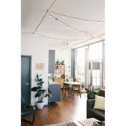 Γιρλάντα για φωτάκια εξωτερικού χώρου για διακόσμηση