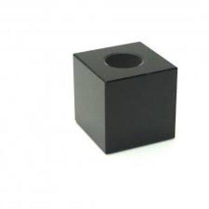 Μαύρος Κρυστάλλινος Κύβος Φωτιστικού