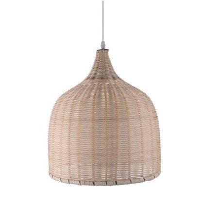Μονόφωτο Bamboo Καλάθι - Ξύλινο Φωτιστικό