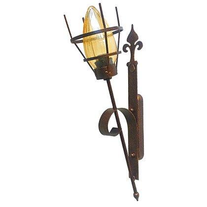Φωτιστικό Πυρσός Απλίκα Τοίχου - Ειδική Κατασκευή