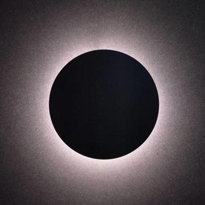 LED Φωτιστικό Eclipse Μαύρο | Στρογγυλό Φωτιστικό Τοίχου & Οροφής