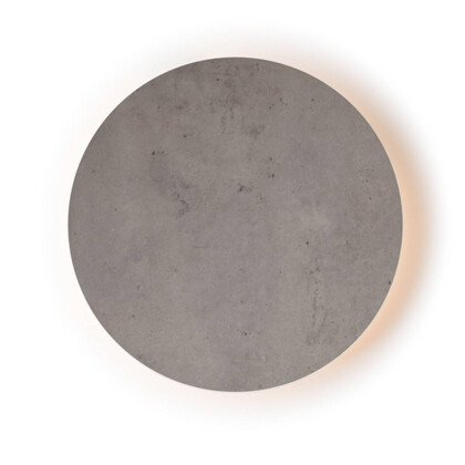 LED Φωτιστικό Eclipse Τσιμέντο | Στρογγυλό Φωτιστικό Τοίχου & Οροφής