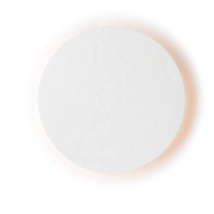 LED Φωτιστικό Eclipse Λευκό | Στρογγυλό Φωτιστικό Τοίχου & Οροφής