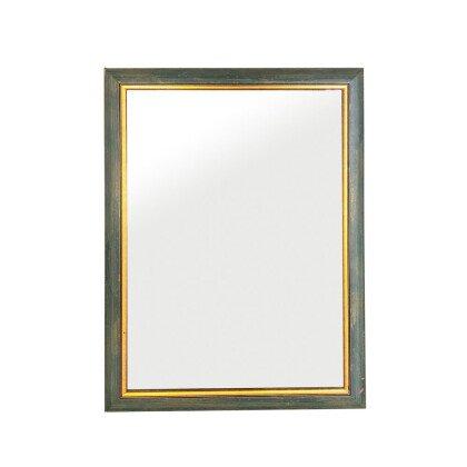 Καθρέπτης Ξύλινος Πετρόλ Ιταλικός | 60x80cm