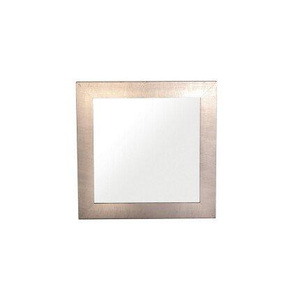Καθρέπτης Ξύλινος Πατίνα | Τετράγωνος 50x50cm