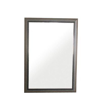 Καθρέπτης Ξύλινος Γκρι Ιταλικός | 46x68cm