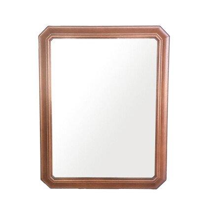 Καθρέφτης Ξύλινος Καφέ | Μασίφ Καρυδιά 71x90