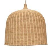 Φωτιστικό Καλάθι Bamboo XL - Ξύλινο Μονόφωτο