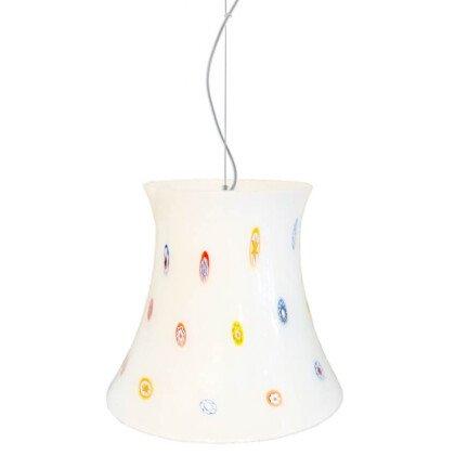 Γυάλινο Φωτιστικό Lollipop | Πολύχρωμο Κρεμαστό Μονόφωτο