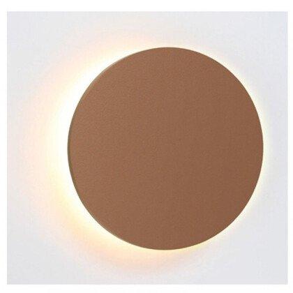 LED Φωτιστικό Eclipse Δέρμα | Στρογγυλό Φωτιστικό Τοίχου & Οροφής