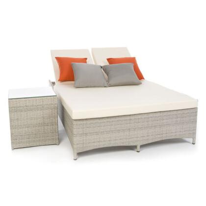 Κρεβάτι διπλό ρατάν εξωτερικού χώρου Artekko 248-1107