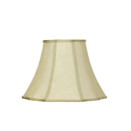 Καπέλο Φωτιστικού Λαδί Κλασικό Αμπαζούρ Παγόδα 30x22