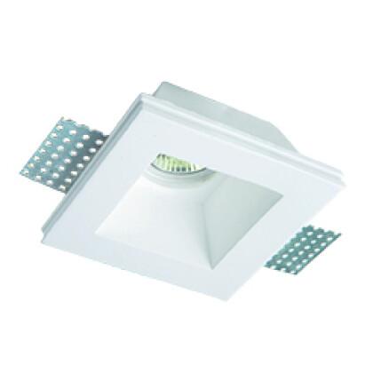 Χωνευτό Σποτ Square Ceramic Bradley 4071400 ΛΕΥΚΟ - Viokef