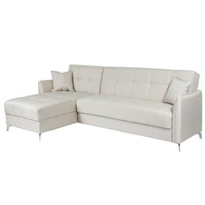 Καναπές-κρεβάτι γωνία EMILIA  INTERNOBASE 176785 Artekko 783-3053