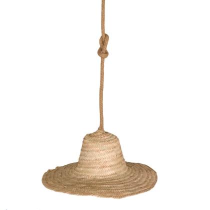 Μονόφωτο Καπέλο Bamboo | Μονόφωτη Καμπάνα Μπαμπού
