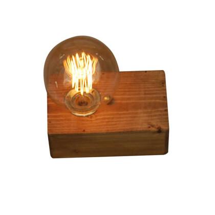 Ξύλινο φωτιστικό με δυνατότητα σύνθεσης