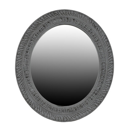 ΚΑΘΡΕΦΤΗΣ ΤΟΙΧΟΥ ΓΚΡΙ ΑΝΤΙΚΕ ΟΒΑΛ 71*3*81εκ 1-723-00-002